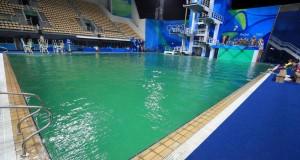 Olimpiadi Rio 2016, il mistero della piscina verde