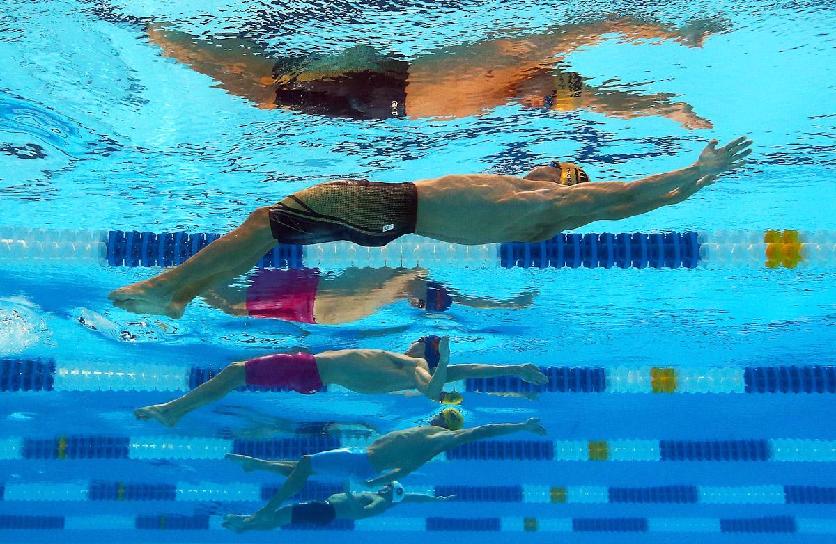 Плавание как способ похудения