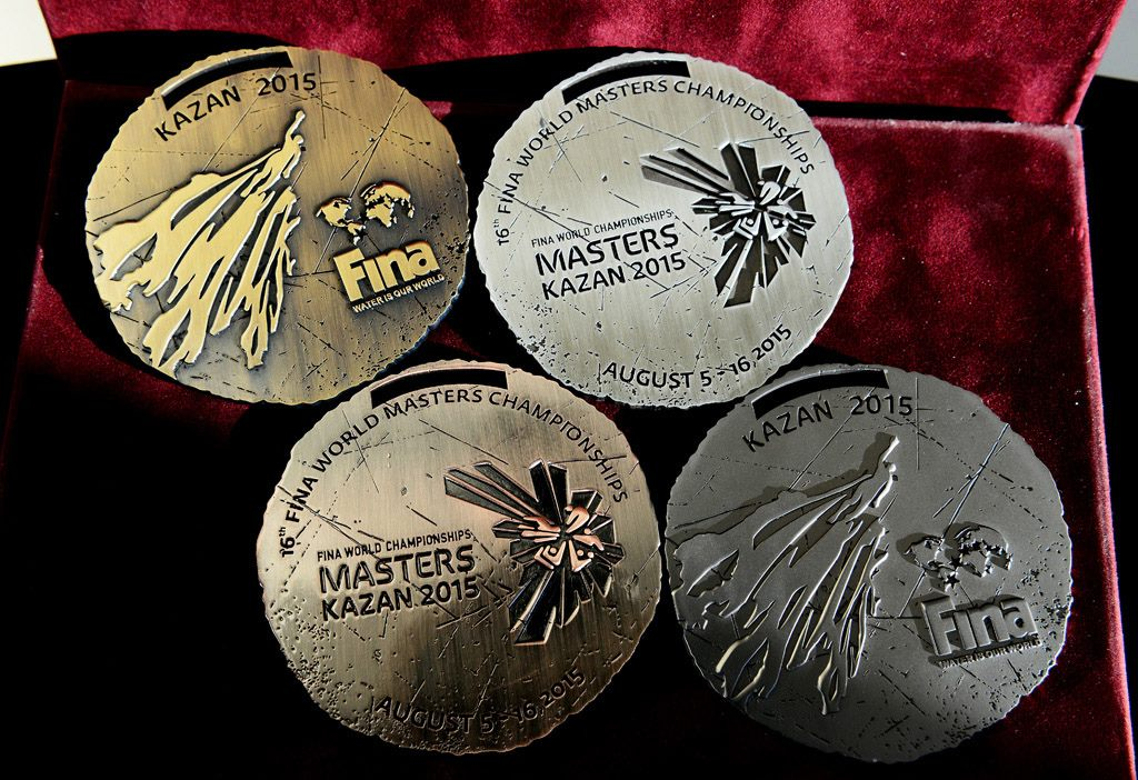 FINA_World_Masters_Championships_Kazan_2015_medals