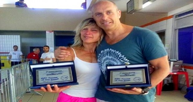 Laura deponti e giuseppe tiano onorano giancarlo novati - Piscina di mozzate ...
