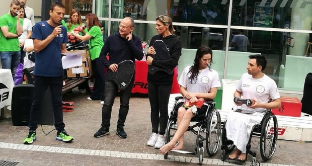 Nuoto master e paralimpici insieme in un 39 unica gara di for Piscina zero9 roma