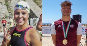 Nuoto di Fondo, Assoluti Open, Silvia Ciccarella e Fabio Dalu vincono la 2.5 km